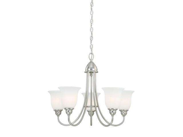 Vaxcel Concord 5L Chandelier, Satin Nickel - H0068