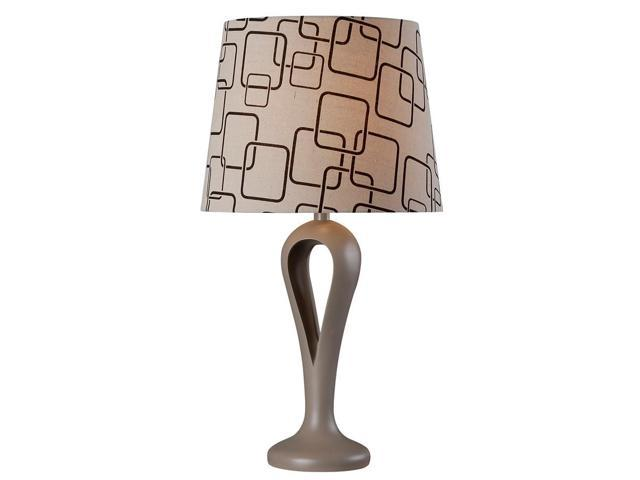 Kenroy Home Parfume Table Lamp, Gray - 32685GRY