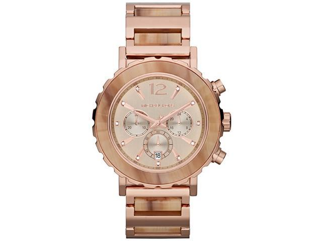Michael Kors Lille Chronograph Rose Gold Sand Womens Watch MK5791
