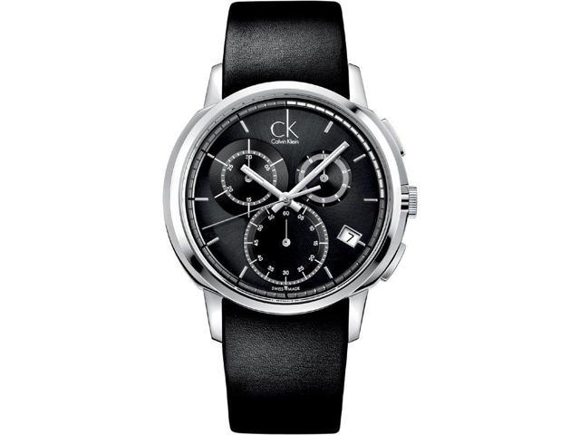 Calvin Klein Drive Chronograph Black Mens Watch K1V27102