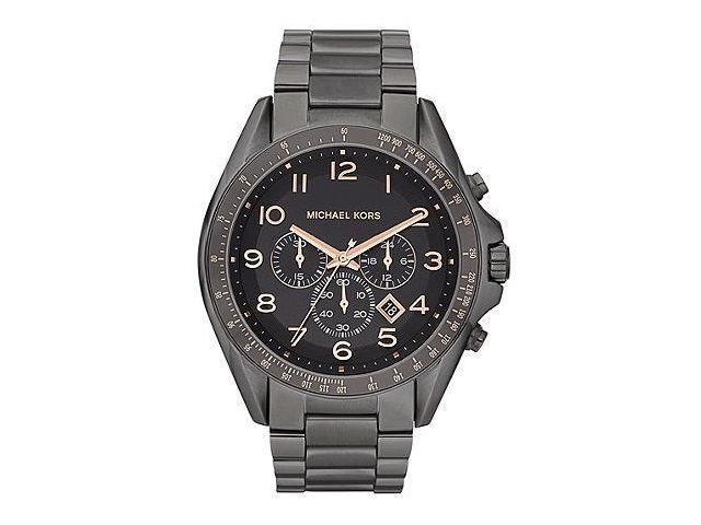 Michael Kors Bradshaw Chronograph Gunmetal Mens Watch MK8255