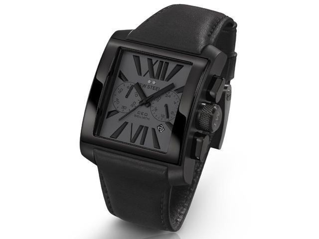 TW Steel CEO Goliath All Black Chronograph Mens Watch CE3013