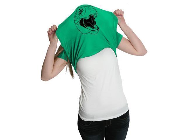 Women's Ask Me About My T-Rex T Shirt Funny Flip Up Trex Shirts For Women XXL