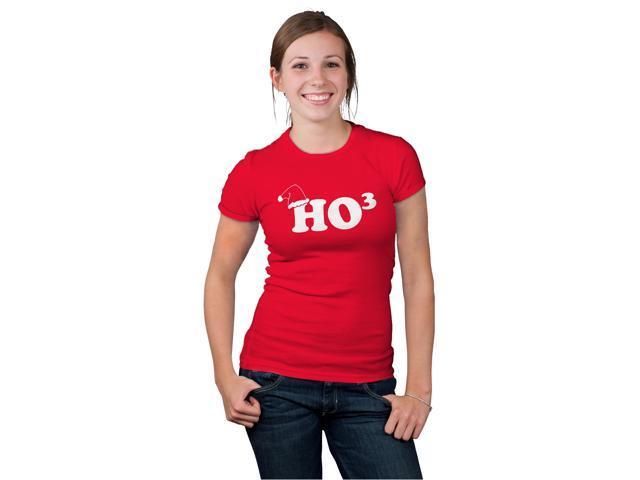 Women's Ho To The Third T Shirt Funny Christmas Hohoho Tee for women XL