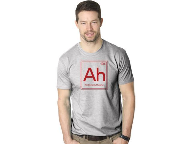 Ah! The Element Of Surprise T Shirt Funny Periodic Table Tee S