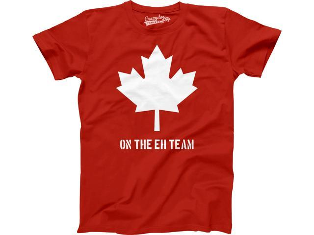 Canada The Eh Team Youth T Shirt Funny A Team Parody Tee For Kids S