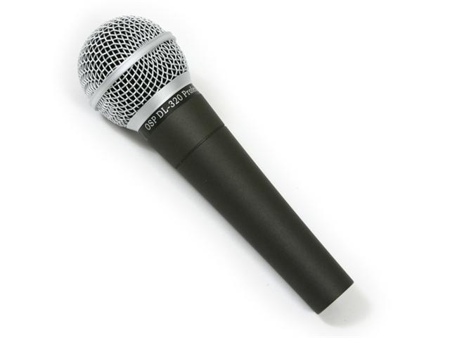 OSP DL-320 Vocal Dynamic Microphone - Cardiod Mic - SM58 Type