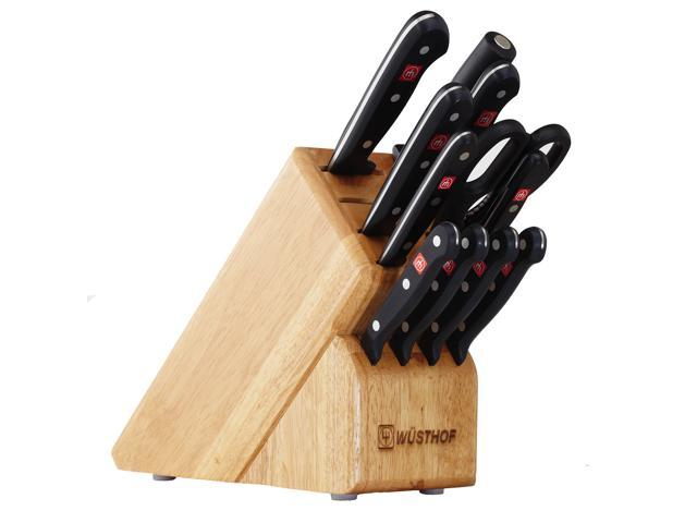 Wusthof Gourmet 12-Piece Knife Block Set