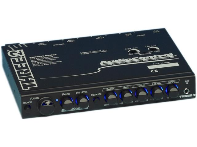 Audiocontrol THREE.2 In-Dash Pre-Amp Equalizer