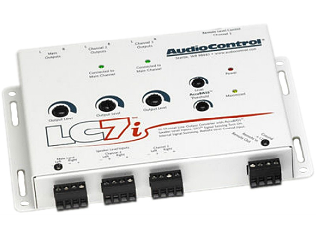 Audiocontrol LC7i WHITE 6-Chan Line Output Converter