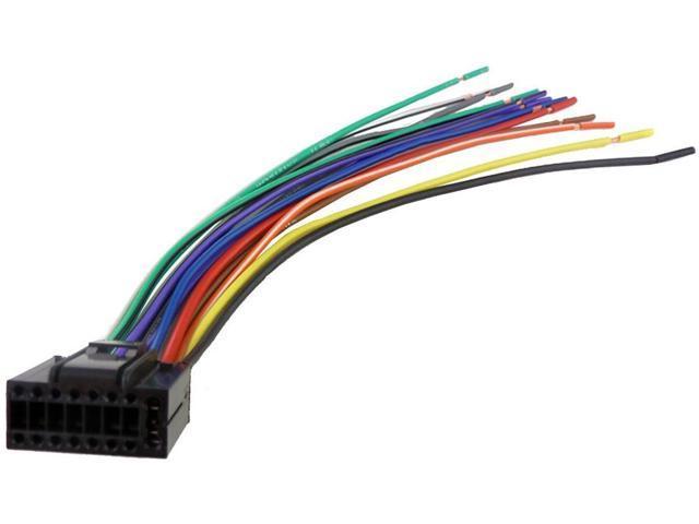 xscorpion pi 16 10 pioneer 16 pin wiring harness newegg ca