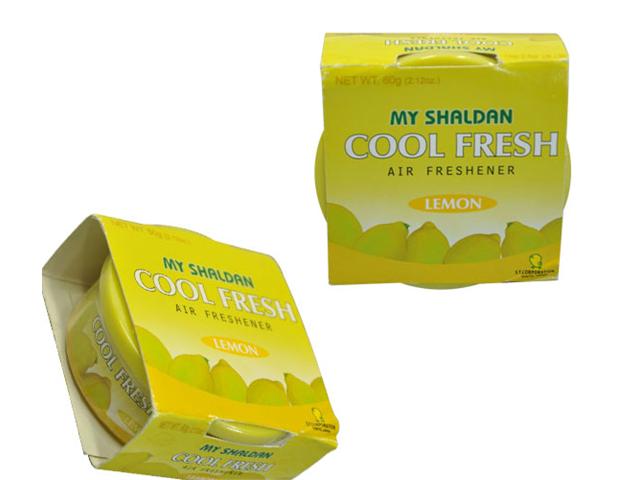 MY SHALDAN COOL FRESH LEMON AIR FRESHENER