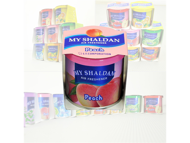 My SHALDAN - PEACH AIR FRESHENER
