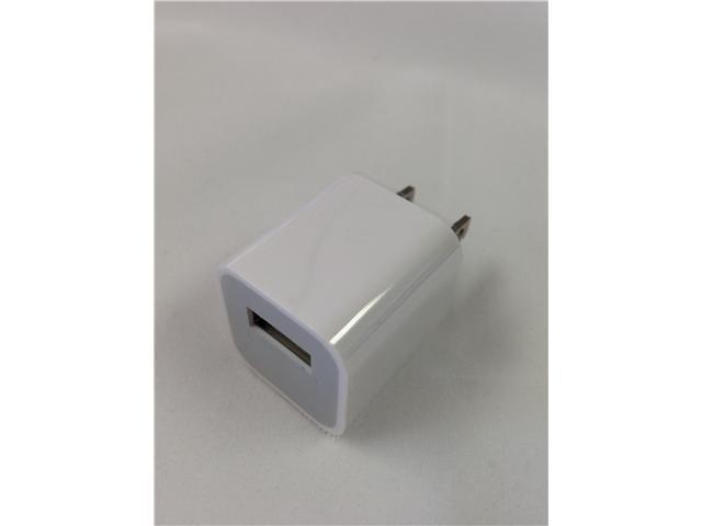 USB AC Power Adapter, White (iPhone 3/3GS/4/4S/5, iPod nano, iPod touch)