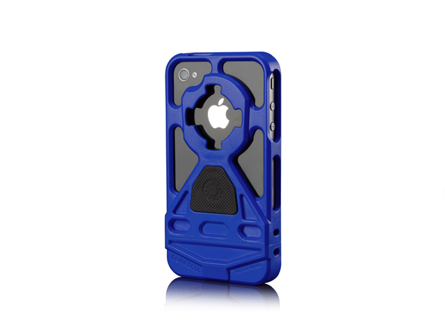 Rokform Blue Mountable HandsFree iPhone 4/4s Case Cover with Car Mount