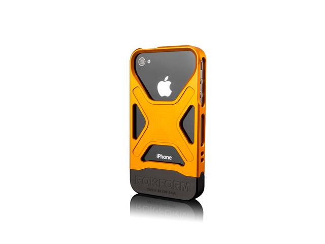 Rokform Orange Fuzion Aluminum Case for iPhone 4 /4s