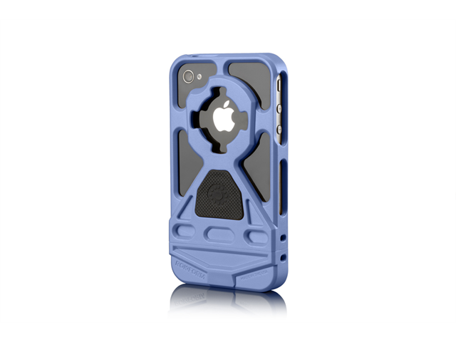 Rokform Sky Blue Mountable HandsFree iPhone 4/4s Case Cover with Car Mount