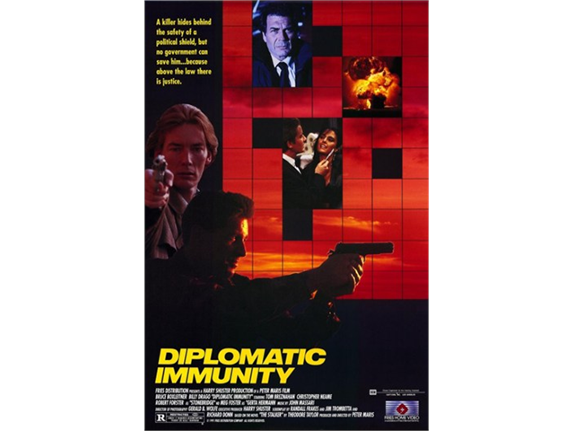 thesis diplomatic immunity Use or abuse of diplomatic immunity: a critical analysis of international law on diplomatic and consular asylum abstract the british government voiced its yearning to finish the impasse over an absconder who skipped bail and sought asylum in the ecuadorean embassy in london in august 2012, the british government.