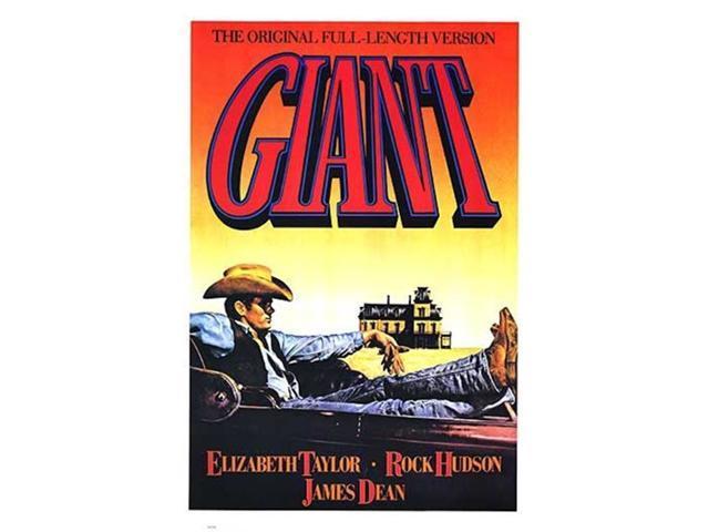 Giant, c.1956 Movie Poster (11 x 17)-Newegg.com