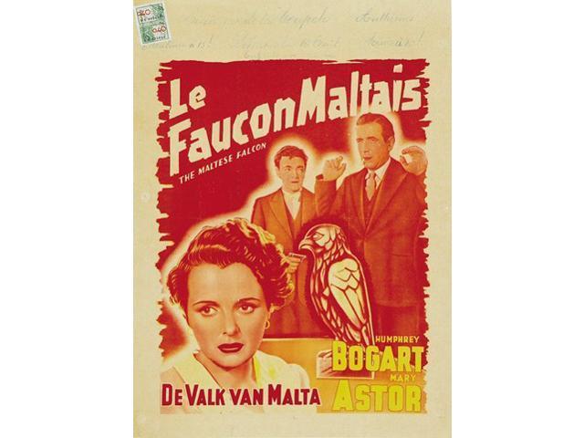 Original maltese falcon movie poster for sale