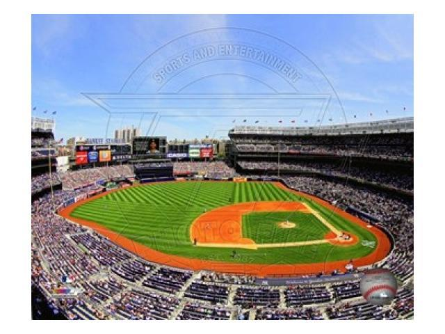 Yankee Stadium Wall Art Electric 52