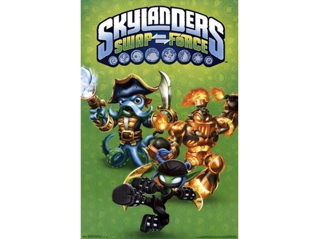 skylanders swap force poster pdf