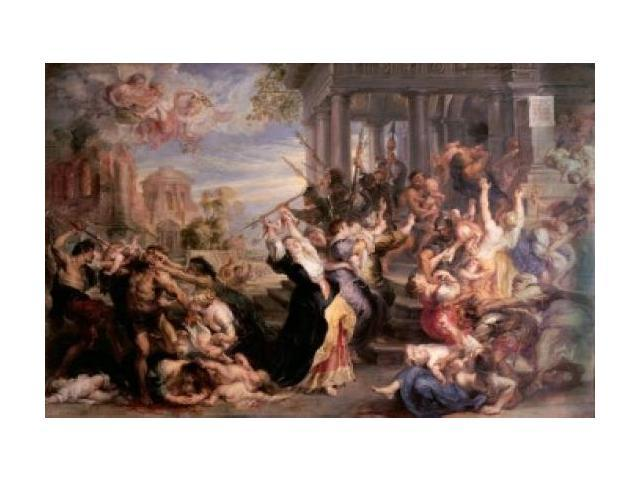 Massacre of the Innocents by Sir Peter Paul Rubens - Assignment Example