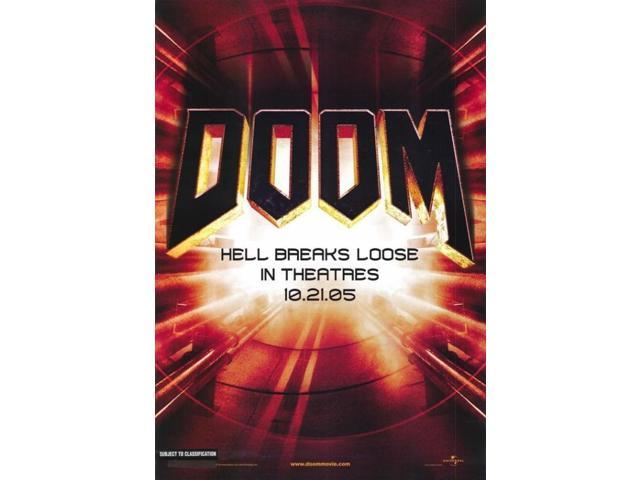 doom movie poster 27 x 40neweggcom
