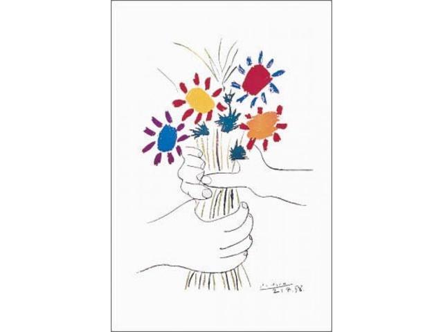 Petite fleurs poster print by pablo picasso 24 x 36 for Picasso petite fleurs