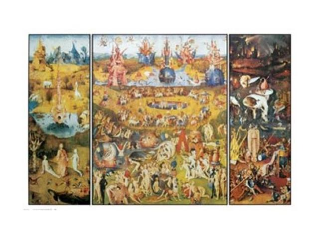Garden Of Earthly Delights Poster Print By Hieronymus