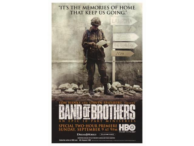 band of brothers movie poster 27 x 40neweggcom
