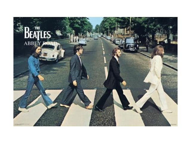 Beatles abbey road mural poster print 40 x 60 for Beatles abbey road wall mural