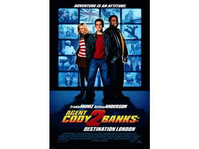 Agent Cody Banks 2: Destination London Movie Poster (27 x