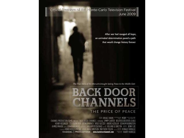 Back Door Channels The Price Of Peace Movie Poster 27 X