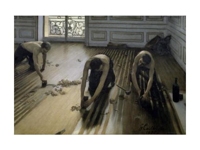 The Floor-Scrapers , 1875 , Gustave Caillebotte (1848-1894 ...