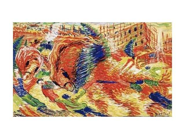 The City Rises Poster Print by  Umberto Boccioni  (12 x 18)
