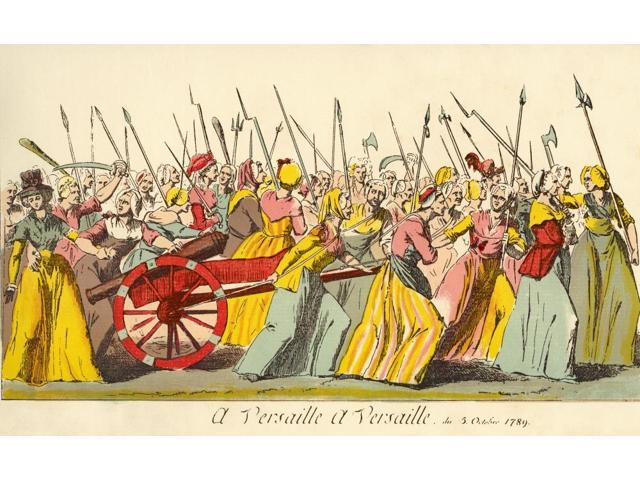 of the poissardes or market women to versailles on th   of the poissardes or market women to versailles on 5th 1789