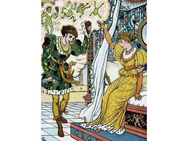 Frog Prince - The Transformation Poster Print by Walter Crane (18 x 24)
