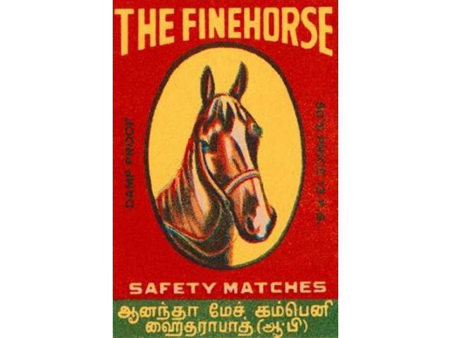 The Fine Horse Safety Matches Poster Print by  Phillumenart (24 x 36)