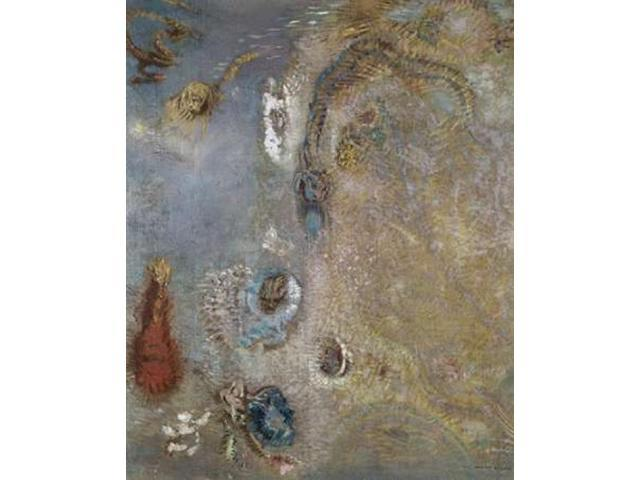 Abstract Fantasy Poster Print by  Odilion Redon  (8 x 10)