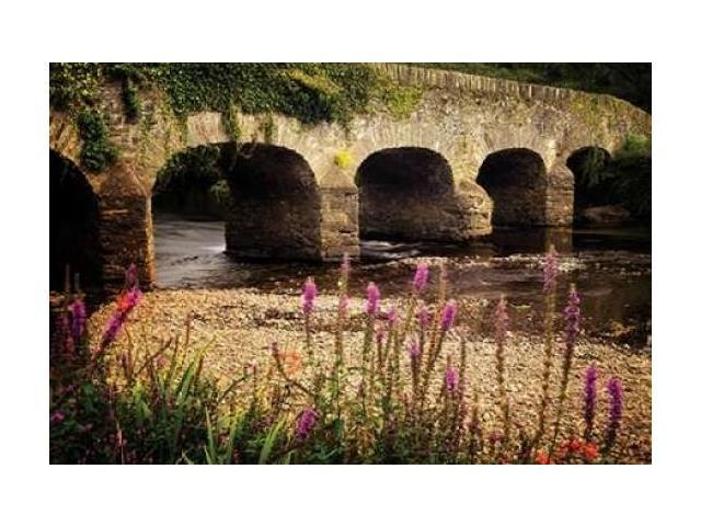 Arched Bridge I Poster Print by Dennis Frates (24 x 36)