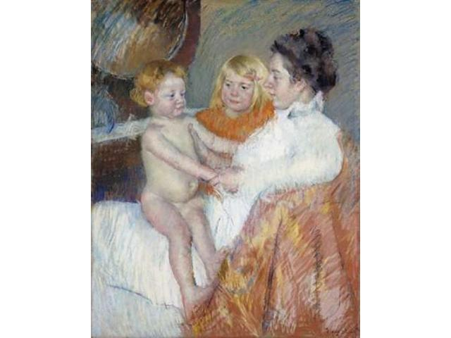 Mother Sara and The Baby Poster Print by Mary Cassatt (24 x 30)