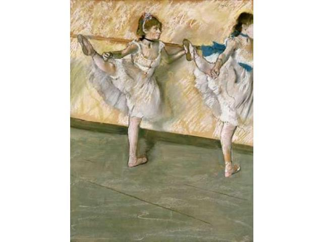 Dancers at The Bar Poster Print by Edgar Degas (18 x 24)