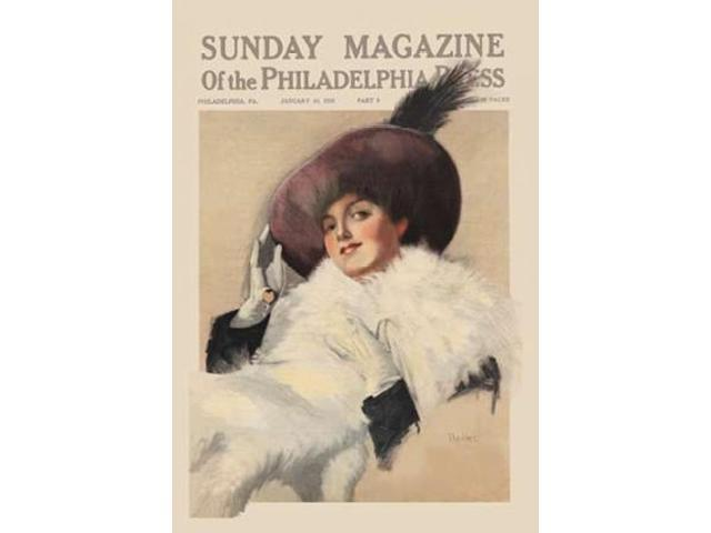Sunday Magazine of the Philadelphia Press Poster Print by  Unknown (24 x 36)