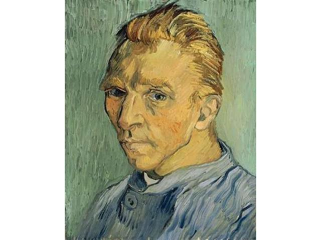 Self Portrait Without Beard Poster Print by Vincent Van Gogh (24 x 30)