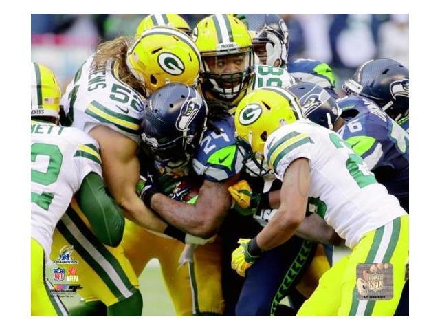 Marshawn Lynch 2014 NFC Championship Game Action Photo Print (8 x 10)