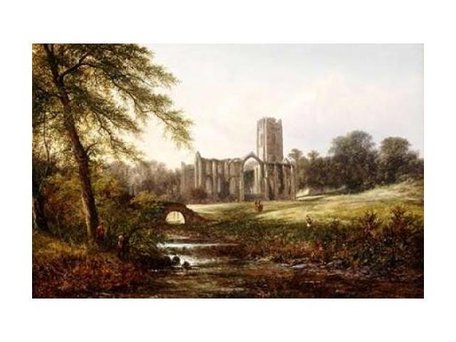 Rievaulx Abbey Poster Print by Walter Williams (24 x 36)