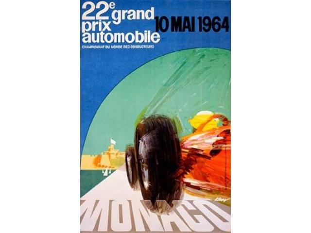 22e grand prix / 10 Mai 1964 Poster Print by J. May (24 x 36)