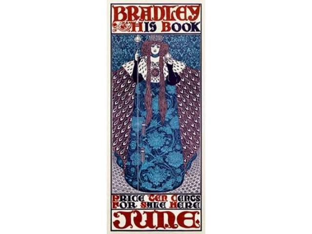 Bradley/His Book/June Poster Print by  William H. Bradley  (10 x 20)