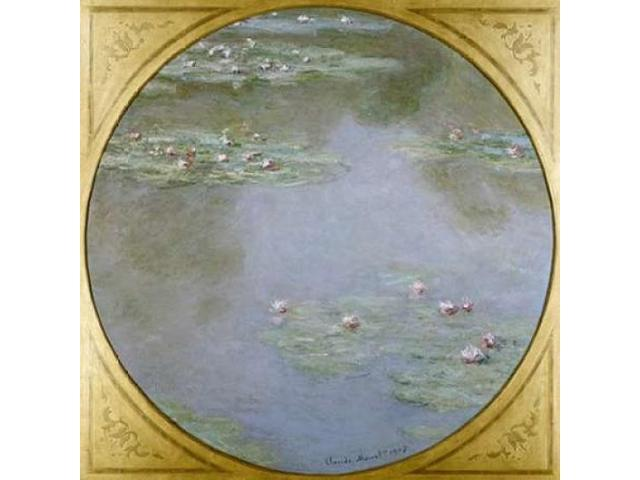 Waterlilies Poster Print by  Claude Monet  (12 x 12)